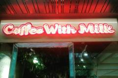 Coffee With Milk Neon